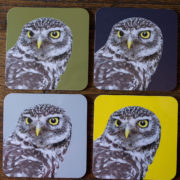 Coasters Owl All