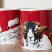 Mug Ram Sheep Red
