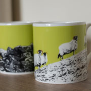Mug Sheep Wall Lime